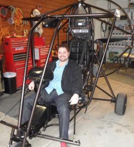 Chris Hintz first SkyeRyder II AB Customer