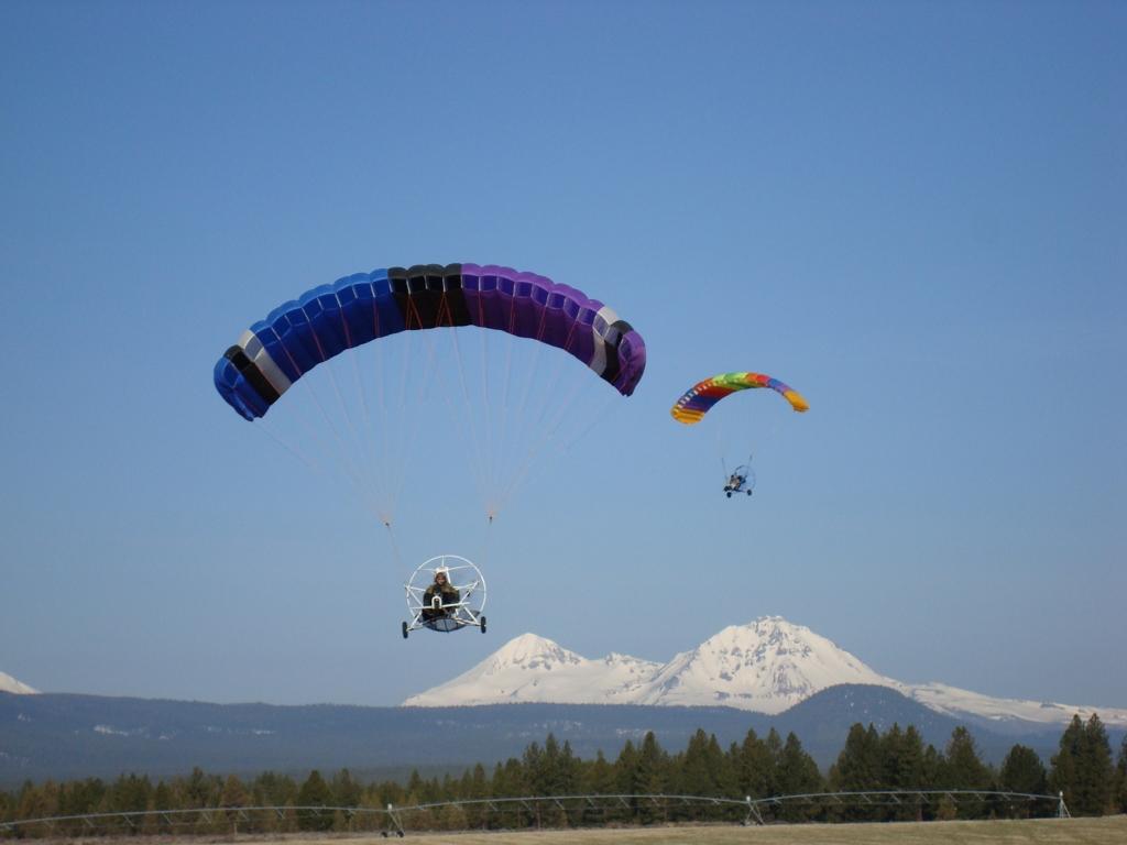 Six Chuter International Powered Parachutes – Manufacturing
